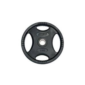 Профессиональные диски для штанги 2.5 кг Stein Black Plate прорезиненые