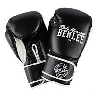 Боксерские перчатки BENLEE Quincy 10 ун. Черный