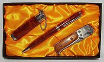 Подарунковий набір EGLANTINE: запальничка+ ручка + ніж