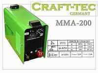 Сварочный инвертор CRAFT TEC MMA-200 (IGBT)