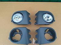 Комплект противотуманних фар с кронштейнами на Opel Vivaro Renault Trafic Опель Виваро Рено Трафик 01-06