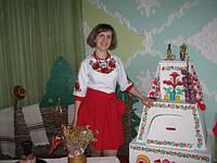 Прекрасна замовниця з м.Вараш в сукні з маками від Української вишиванки