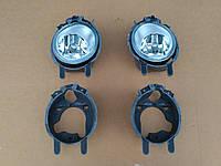 Комплект противотуманних фар с кронштейнами на Opel Vivaro Renault Trafic Опель Виваро Рено Трафик 06-14