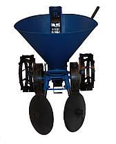 Картоплесаджалка для мотоблока з транспортними колесами Полтава АПК-3, фото 3