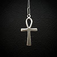 Серебряный коптский крест Анх