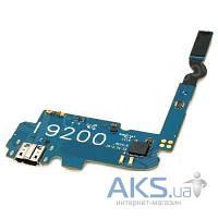Шлейф для Samsung i9200 Galaxy Mega 6.3 / i9205 Galaxy Mega 6.3 с разъемом зарядки и микрофоном Original