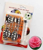 Набор инструментов 5Д для декорирования желейных тортов