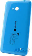 Задняя часть корпуса (крышка аккумулятора) Microsoft (Nokia) Lumia 640 Blue