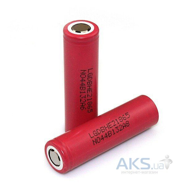 Элемент питания LG аккумулятор 18650  Li-ion 3.6V (2500mAh) (ICR18650HE2)