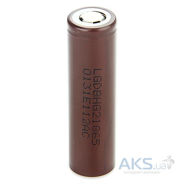 Элемент питания LG аккумулятор 18650  Li-ion 3.6V (3000mAh) (18650-HG2) 1шт.