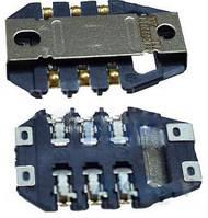 (Коннектор) Aksline Разъем SIM-карты  Nokia 220 / 308 / 309 / 310