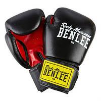 Боксерские перчатки Benlee Fighter 10 ун. Черный/Красный