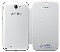 Чехол Samsung Flip Case Galaxy Note 2 N7100 White