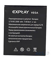 Аккумулятор Explay Vega (2000 mAh) Original