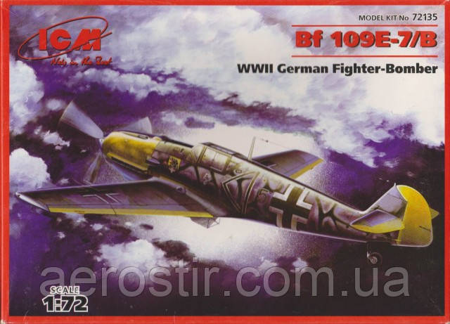 Bf-109E7/B 1/72 ICM 72135