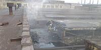 В Мариуполе сгорел один из цехов крупного предприятия