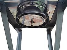 Дека для дымохода 360 мм из нержавеющей стали «Версия Люкс», фото 2