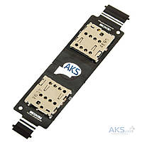 Шлейф Asus ZenFone 5 (A501CG) / ZenFone 5 (A500KL) Dual Sim с разъемом SIM-карты
