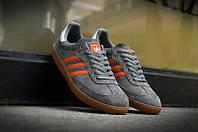 """Кроссовки Adidas Samba """"Grey/Orange"""", фото 1"""