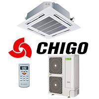 Кассетный кондиционер Chigo CCA-48HR1/COU-48HSR1