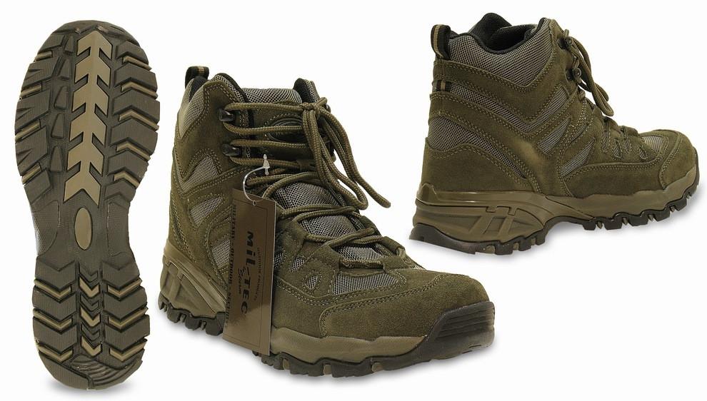 Тактические ботинки Мил-тек Squad Stiefel 5 Inch OLIVE