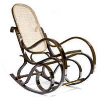 Кресло качалка Rafia темное