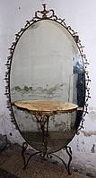 """Бронзове дзеркало з консоллю """"Лебеді"""""""