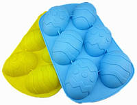 Форма силиконовая для выпечки яйцо