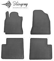 Коврики резиновые в салон Chery Tiggo Т21 2014- Комплект из 4-х ковриков Черный в салон. Доставка по всей Украине. Оплата при получении
