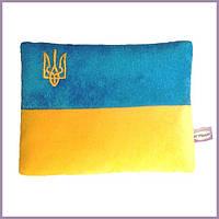 Подушка-грелка Флаг Украины Зігрівайко 21 см × 15 см × 4 см