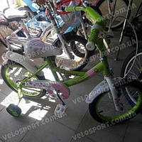 Детский велосипед Azimut Kathy 16 дюймов цвет салатовый