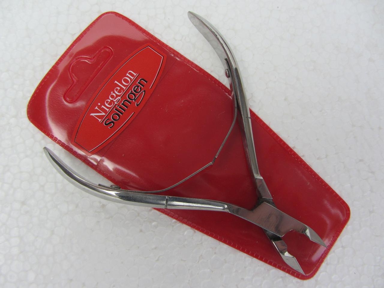 Кусачки для кутикул Niegelon удлиненная ручка №514