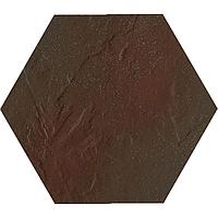 Плитка Paradyz Semir Heksagon 26x26 brown