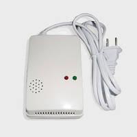 Датчик утечки газа, Безпроводной, 433mhz «Автономный детектор утечки газа с сиреной»