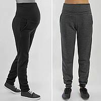 Спортивные штаны на флисе Виктори серые