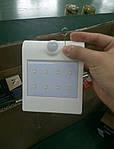 Автономный LED светильник на солнечной батарее LSD-SWL-1.5W с датчиком движения, фото 4