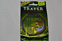 плетеная лескаTRAPER STRONG VS 100метров, 0.25