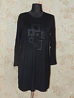 Туника женская  черная