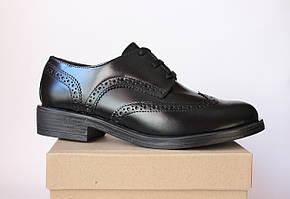 Шикарные женские кожаные туфли-броги Tous La Vie, Италия-Оригинал