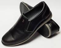 Туфли для мальчика на резинке, детская обувь 32-39 от производителя модель ДЖ-3713