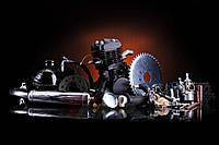 Веломотор 80 сс Дырчик чёрный с ручным стартером