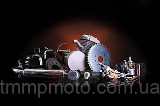 Веломотор / мотовелосипед в сборе 80см3/ 80 сс заводского качества без стартера полный комплект, фото 3