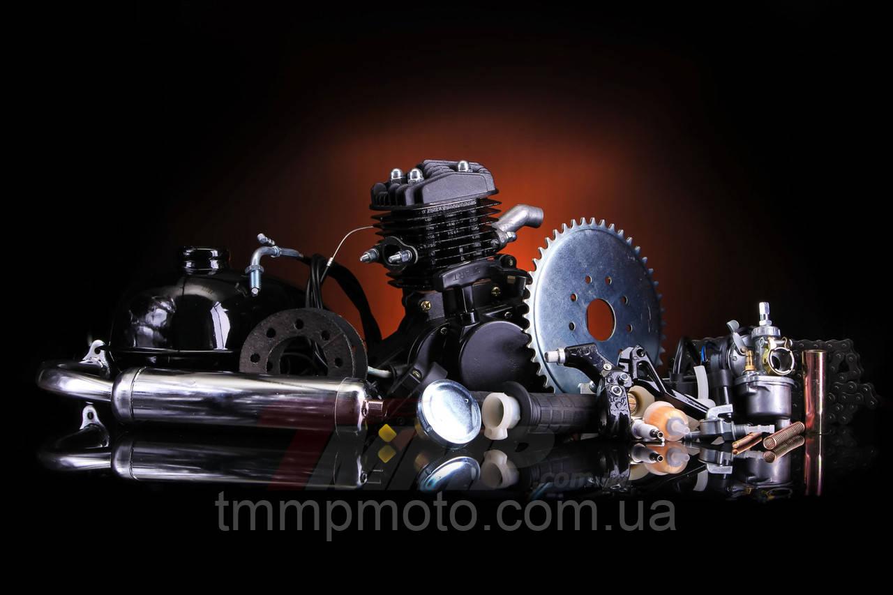 Веломотор/ дирчик в зборі з ручним стартером 80 сс 47мм повний комплект