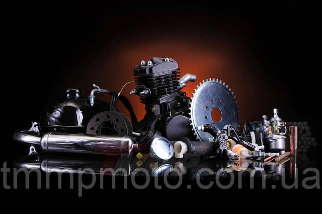 Веломотор/ дирчик в зборі з ручним стартером 80 сс 47мм повний комплект, фото 2
