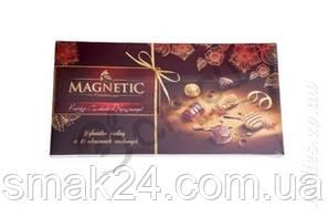 Конфеты шоколадные с пралине MAGNETIC  ассорти 10 вкусов Германия 400г