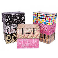 Короб-органайзер для хранения вещей, постельного белья, кофр для хранения игрушек