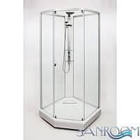 IDO Showerama 8-5 49851-12-010 Душевая  кабина. Серебристый, Прозрачное  (ШхДхВ) 100х100х2250