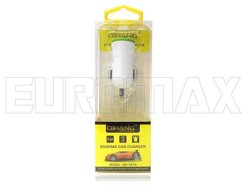 Зарядное устройство авто 1USB 5В 2,1А XD-003-QH-1670