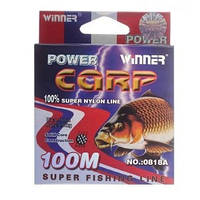 Леска POWER Carp Winner-100m/0.30mm, 12,6кг.
