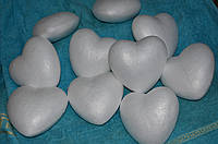 Сердце пенопласт 14см